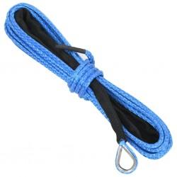 stradeXL Lina do wciągarki, niebieska, 5 mm x 9 m