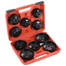 stradeXL 11-częściowy zestaw narzędzi do filtra oleju