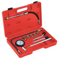 stradeXL 12-częściowy tester ciśnienia sprężania do silników benzynowych