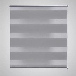 Zebra Blind 60 x 120 cm Grey