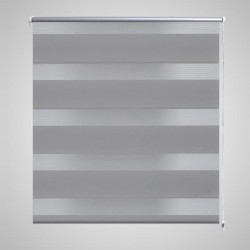 Zebra Blind 120 x 175 cm Grey
