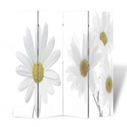 stradeXL Składany parawan, 160x170 cm, motyw kwiatowy