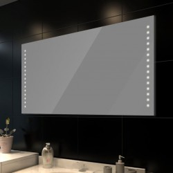 Lustro łazienkowe LED 100x60 cm