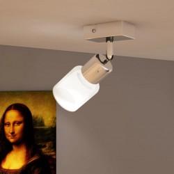 stradeXL Lampa LED z osłoną, wbudowana