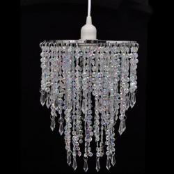 stradeXL Kryształowa lampa wisząca, 22,5 x 30,5 cm