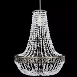 stradeXL Kryształowa lampa wisząca, 36,5 x 46 cm