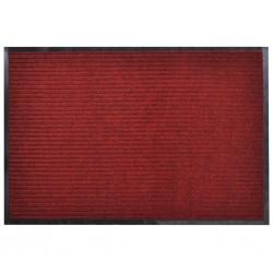 Red PVC Door Mat 90 x 60 cm