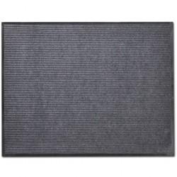 Grey PVC Door Mat 90 x 120 cm