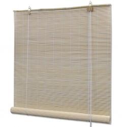 stradeXL Rolety bambusowe, 80 x 160 cm, naturalne