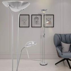 stradeXL Lampa podłogowa LED, przyciemniana, 23 W