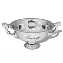 stradeXL Puchar wiaderko na szampana, aluminium, srebrne