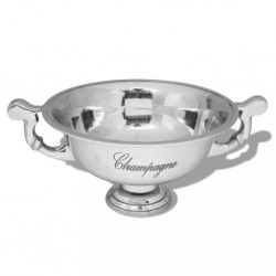 stradeXL Trophy Cup Champagne Cooler Aluminium Silver