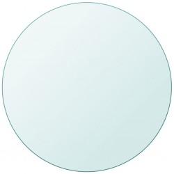 stradeXL Blat stołu, szklany, okrągły, 600 mm