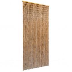 stradeXL Bambusowa kurtyna, zasłona na drzwi 90x200 cm