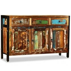 stradeXL Komoda z drewna odzyskanego, 120 x 35 x 76 cm