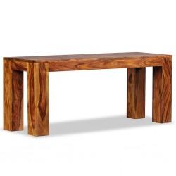 stradeXL Ława, lite drewno sheesham, 110 x 35 x 45 cm