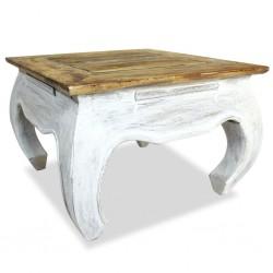 stradeXL Stolik boczny z litego drewna z odzysku, 50x50x35 cm