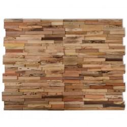 stradeXL Panele okładzinowe ścienne 1 m², drewno tekowe z recyklingu