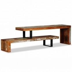 stradeXL Stolik pod telewizor z litego drewna z odzysku