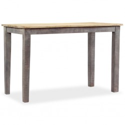 stradeXL Stół do jadalni z litego drewna, vintage, 118 x 60 x 76 cm