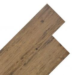 stradeXL Panele podłogowe z PVC, 5,26 m², 2 mm, orzechowy brąz