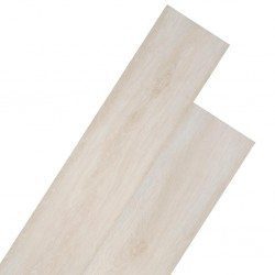 stradeXL Panele podłogowe z PVC, 5,26 m², 2 mm, biały dąb klasyczny