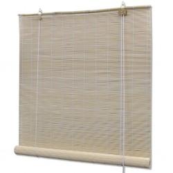 stradeXL Roller Blind Bamboo 80x220 cm Natural