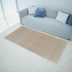stradeXL Mata bambusowa na podłogę, 100x160 cm, naturalna