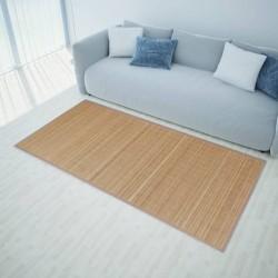 stradeXL Mata bambusowa na podłogę, 160x230 cm, brązowa