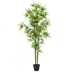 stradeXL Sztuczny bambus z doniczką, 175 cm, zielony