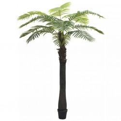 stradeXL Sztuczna palma z doniczką, 310 cm, zielona