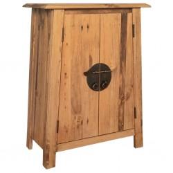 stradeXL Szafka do łazienki, lite drewno sosnowe z odzysku, 59x32x80 cm