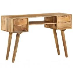 stradeXL Biurko z litego drewna mango, 115 x 47 x 76 cm