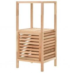 stradeXL Szafka łazienkowa z drewna orzecha włoskiego, 39,5x35,5x86 cm