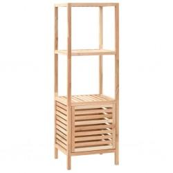 stradeXL Szafka łazienkowa z drewna orzecha włoskiego, 39,5x35,5x123 cm