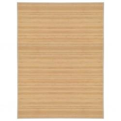 stradeXL Mata bambusowa na podłogę, 150 x 200 cm, naturalna