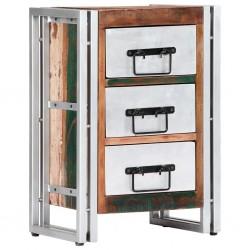 stradeXL Komoda, 40 x 30 x 60 cm, lite drewno z odzysku