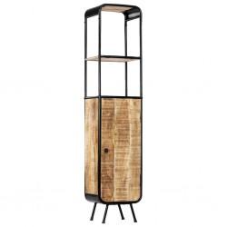 stradeXL Regał, 40 x 30 x 180 cm, lite surowe drewno mango