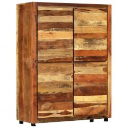stradeXL Szafka, 110x44x147 cm, lite drewno z odzysku