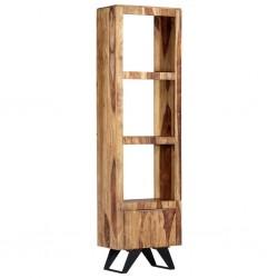 stradeXL Szafka, 45 x 28 x 180 cm, lite drewno sheesham