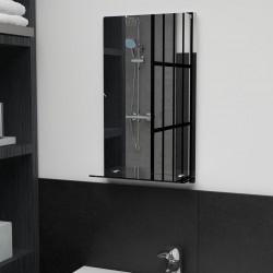 stradeXL Wall Mirror with Shelf 30x50 cm Tempered Glass
