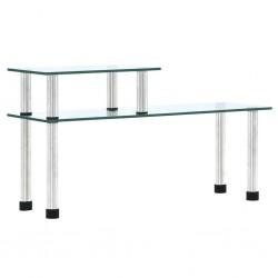 stradeXL Kitchen Shelf Transparent 45x16x26 cm Tempered Glass