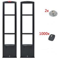 stradeXL System antenowy RF ze znacznikami hard tag i rozpinaczem 8,2MHz