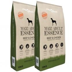 stradeXL Sucha karma dla psów Maxi Adult Essence Beef&Chicken, 2 x 30 kg