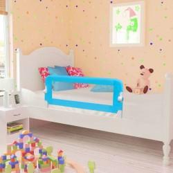 stradeXL Barierki do łóżeczka dziecięcego, 2 szt., niebieskie, 102x42 cm