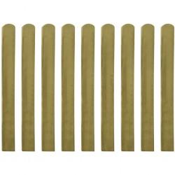 stradeXL 20 impregnowanych sztachet drewnianych, 100 cm