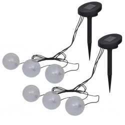 stradeXL Floating Lamps 6 pcs LED for Pond and Pool