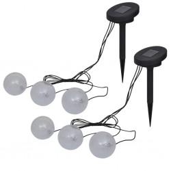 stradeXL Pływające lampy LED do oczka wodnego i basenu, 6 szt.