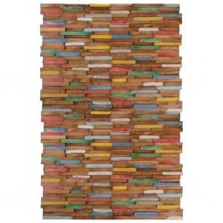 stradeXL Ścienne panele okładzinowe, 20 szt., drewno tekowe, 2 m²