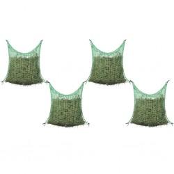 stradeXL Hay Nets 4 pcs Square 0.9x1 m PP